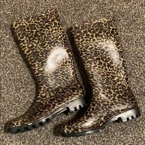 ⭕️Capelli Of New York Cheetah Rain Boots⭕️
